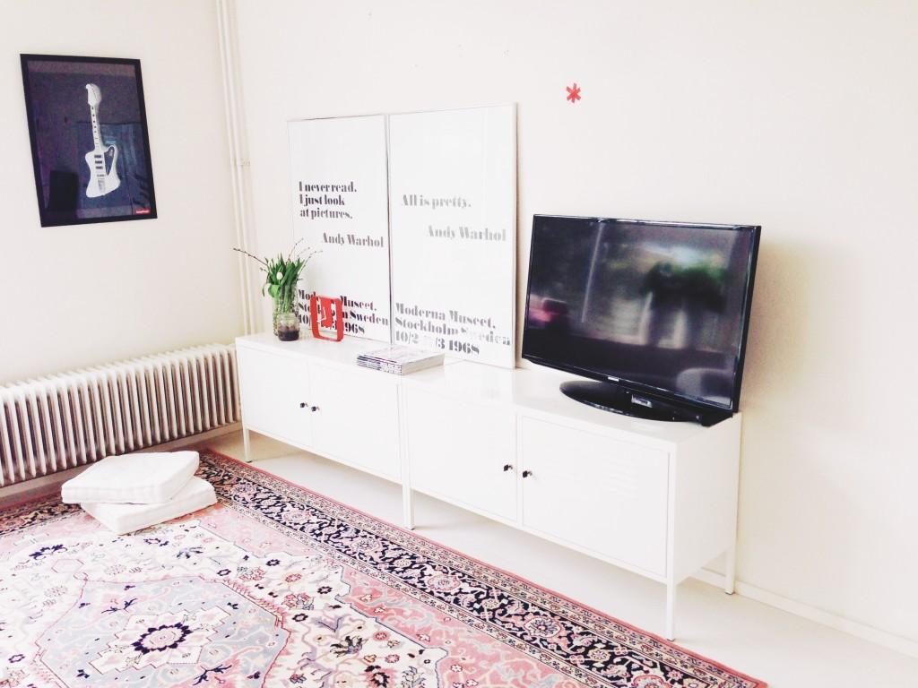 Nieuwe TV-meubel