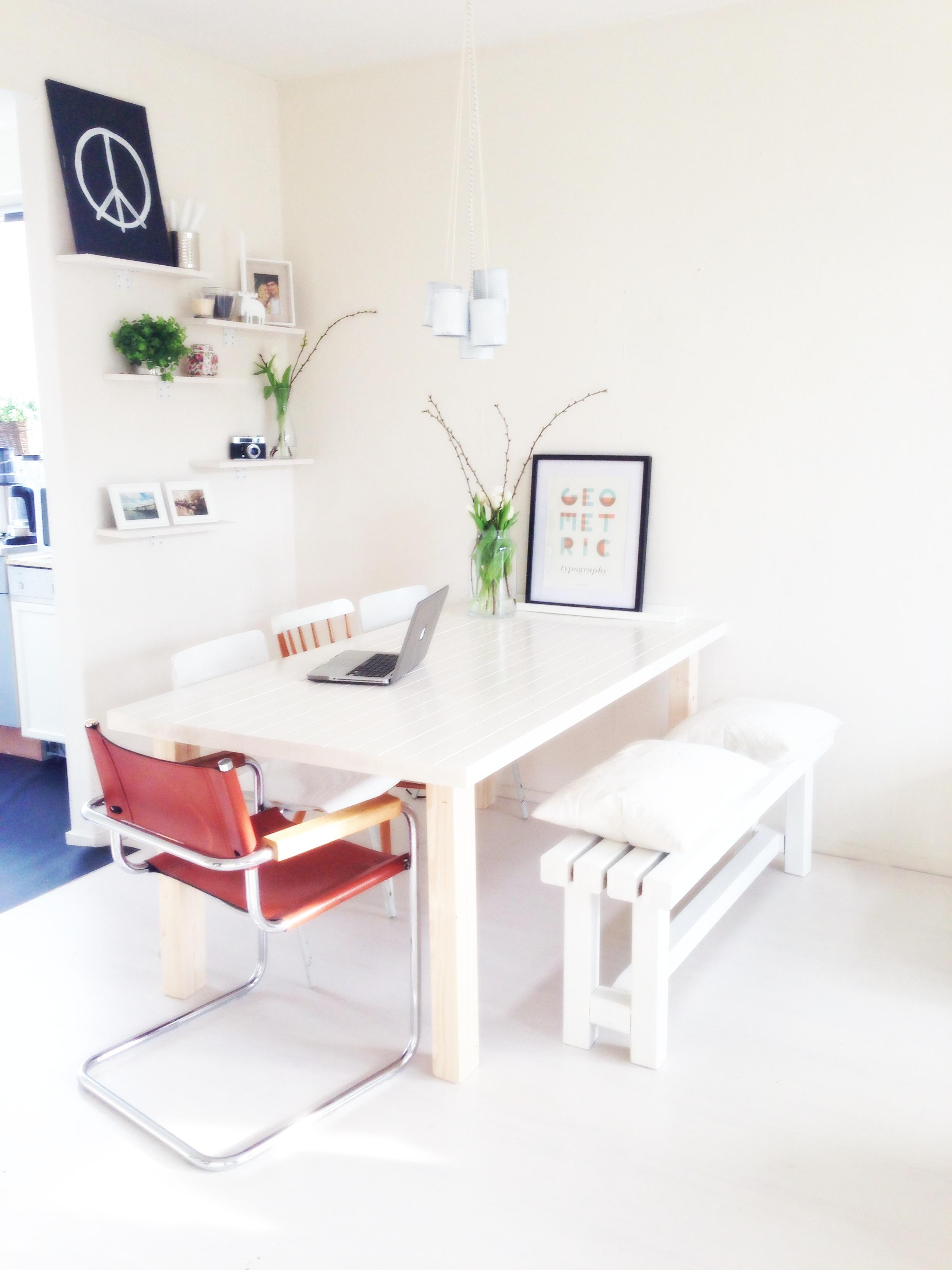 Goedkope Eettafel Bank  De steiger houtloods voor al uw steigerhouten meubelen  Eetkamerbank