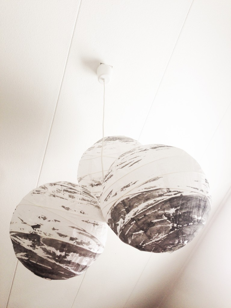 Do it yourself: lamp van rijstpapier