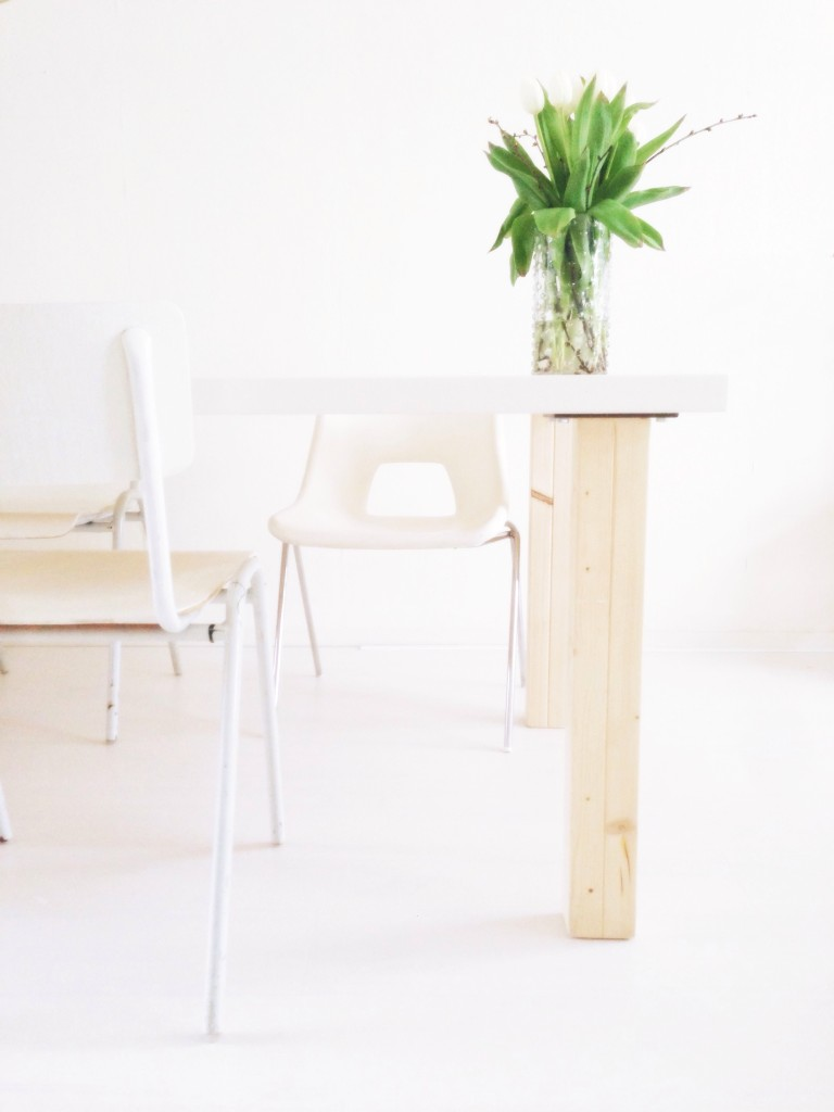 Kringloopvondst én do it yourself: stoelen verven