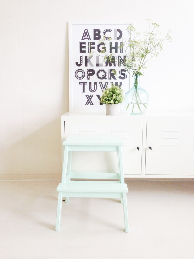 Do it yourself: Ikea trapje verven