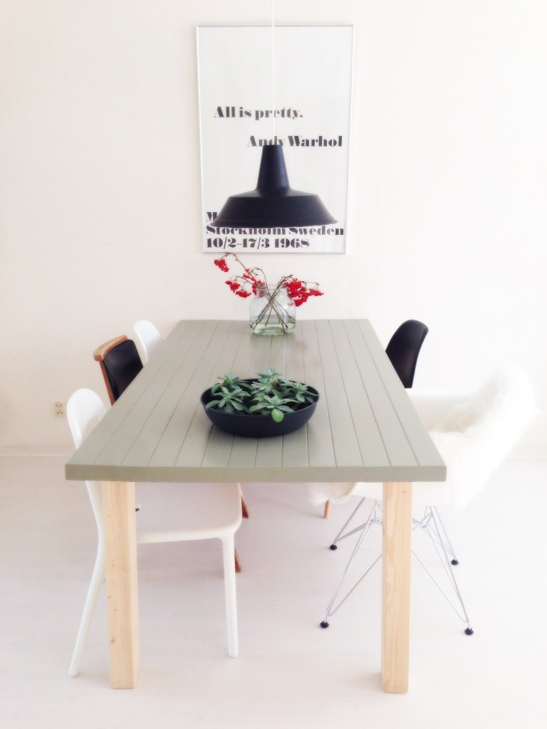 Do it yourself: tafel verven