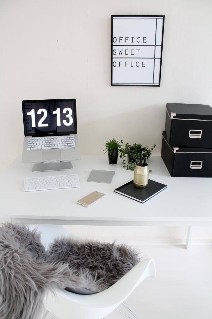 Shoplog én stylingtip: mijn nieuwe werkplek