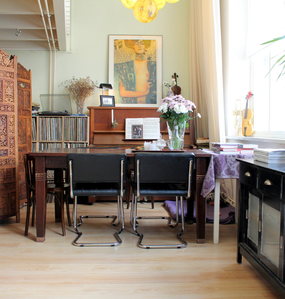 Home Tour: the eclectic home of Nynke