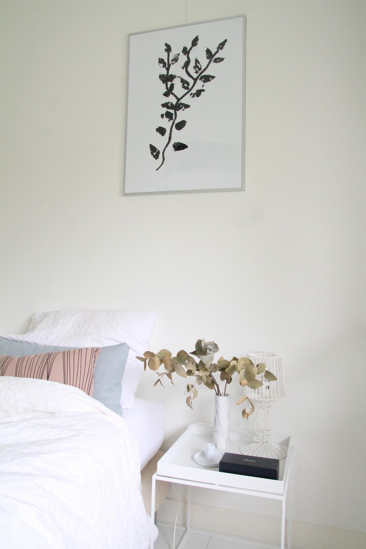 DIY eucalyptus print