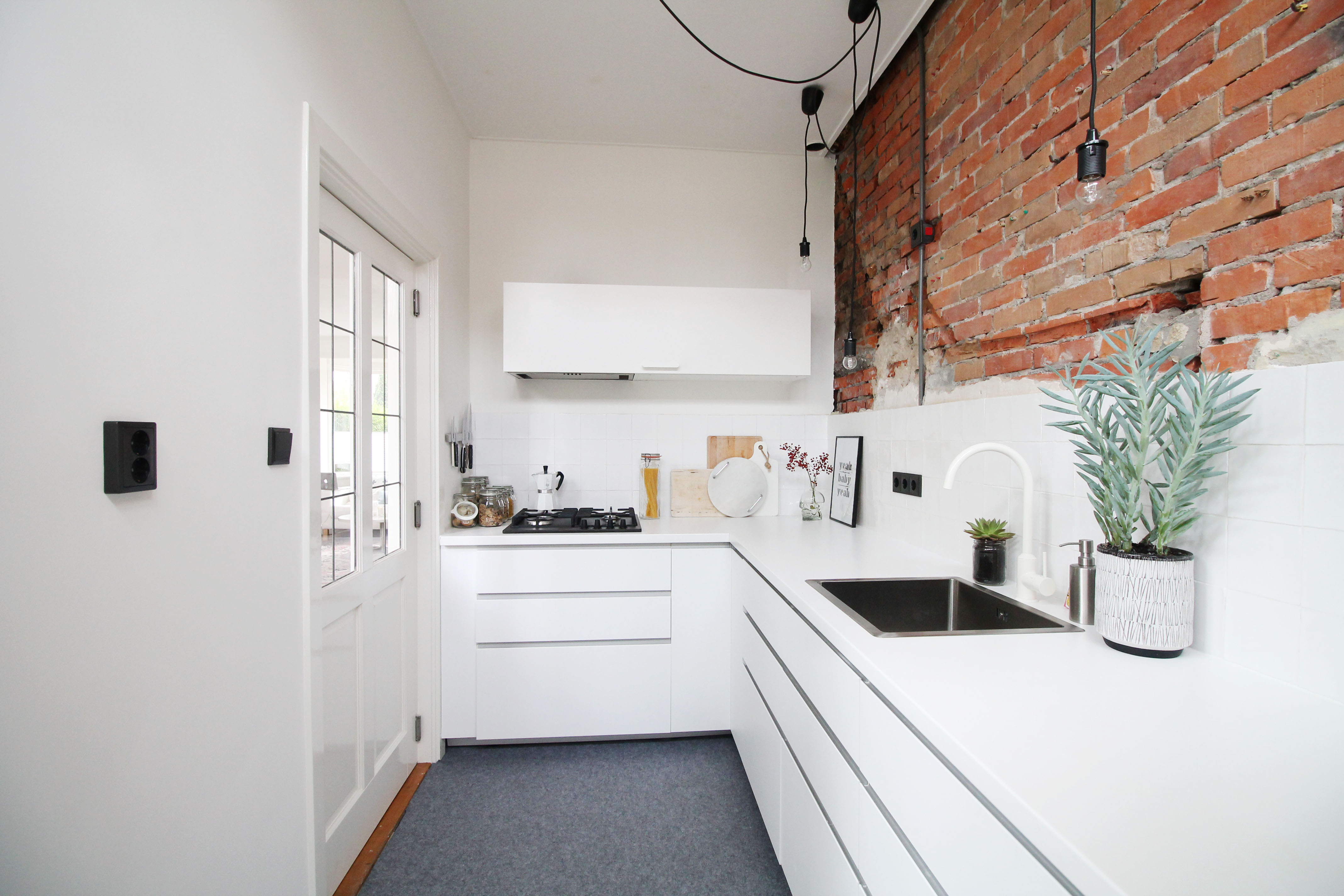 Renovating pt 15 our kitchen donebymyself for Interieur huis