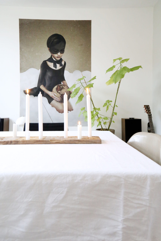 DIY candleholder