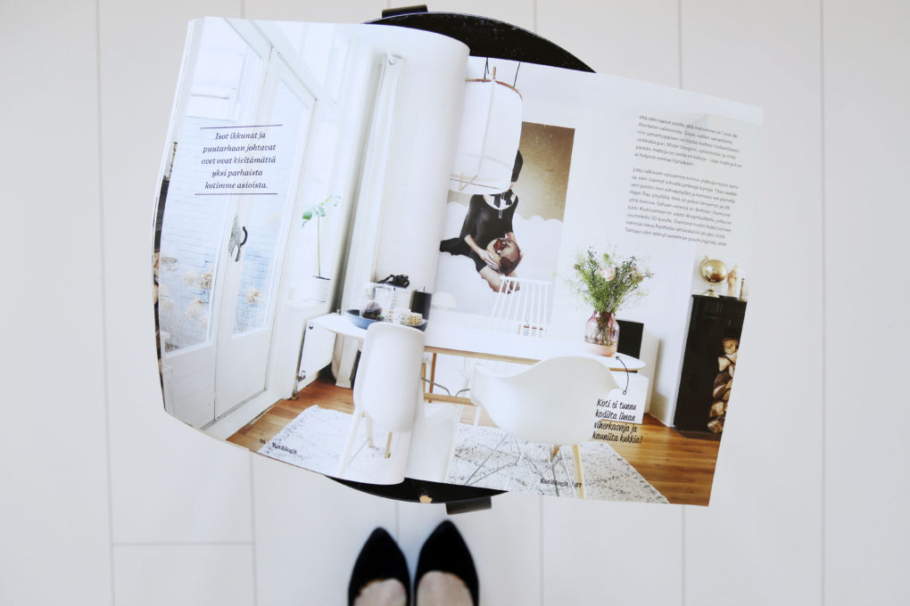 My feature in Finnish magazine Kotiblogit