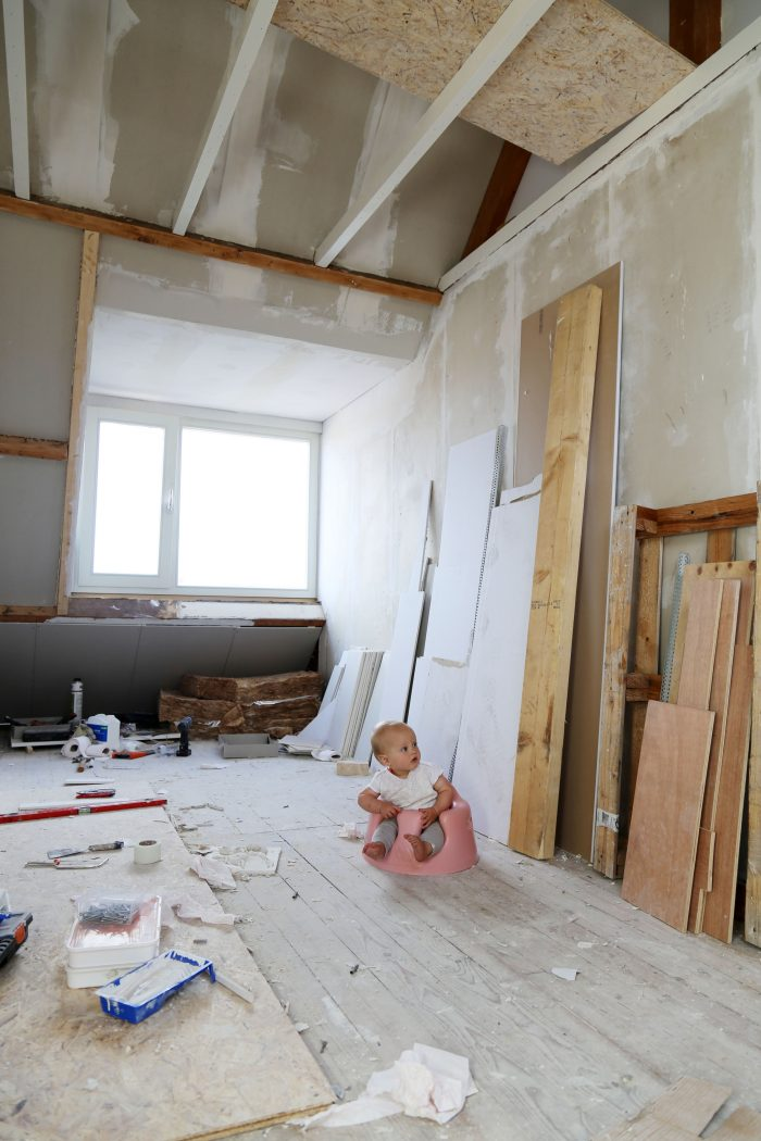 How to renovate with a baby