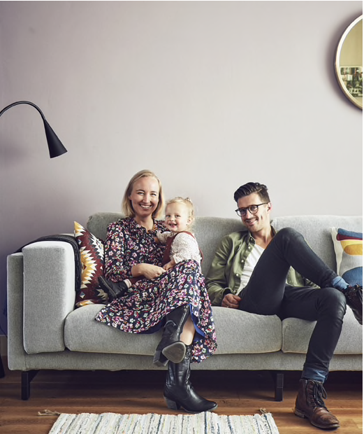 Our house featured in IKEA FAMILY MAG!