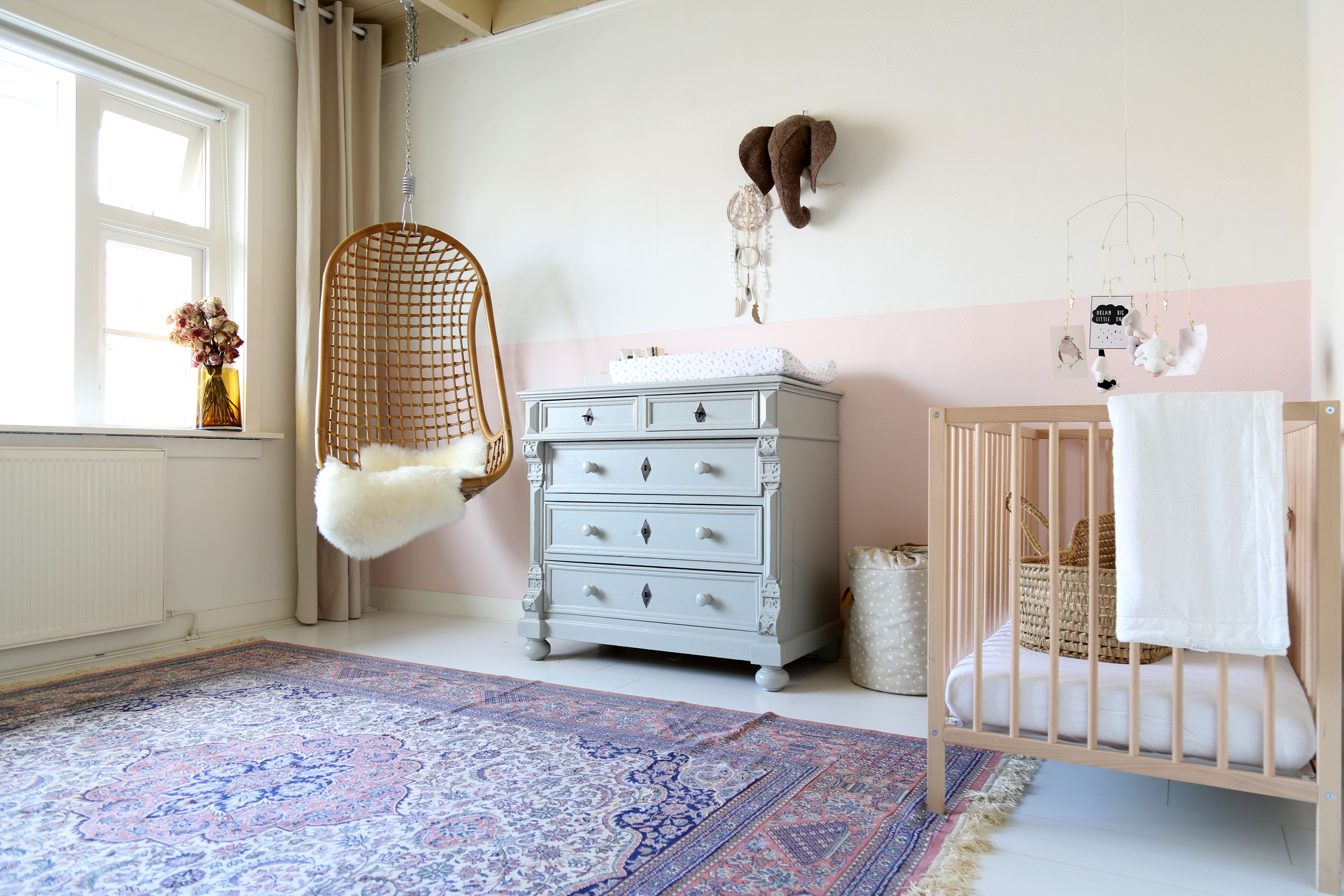 Mia's room featured on The Baby Project