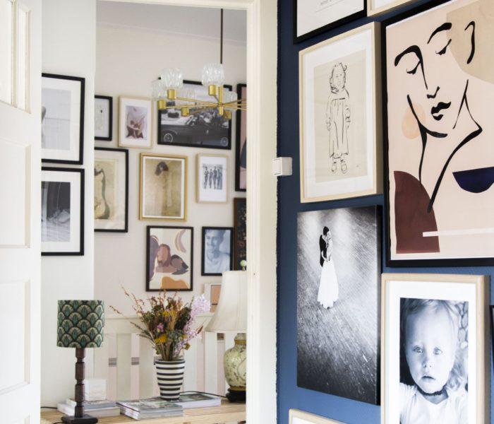 Artikel over (oa onze) gallery walls op het AD!